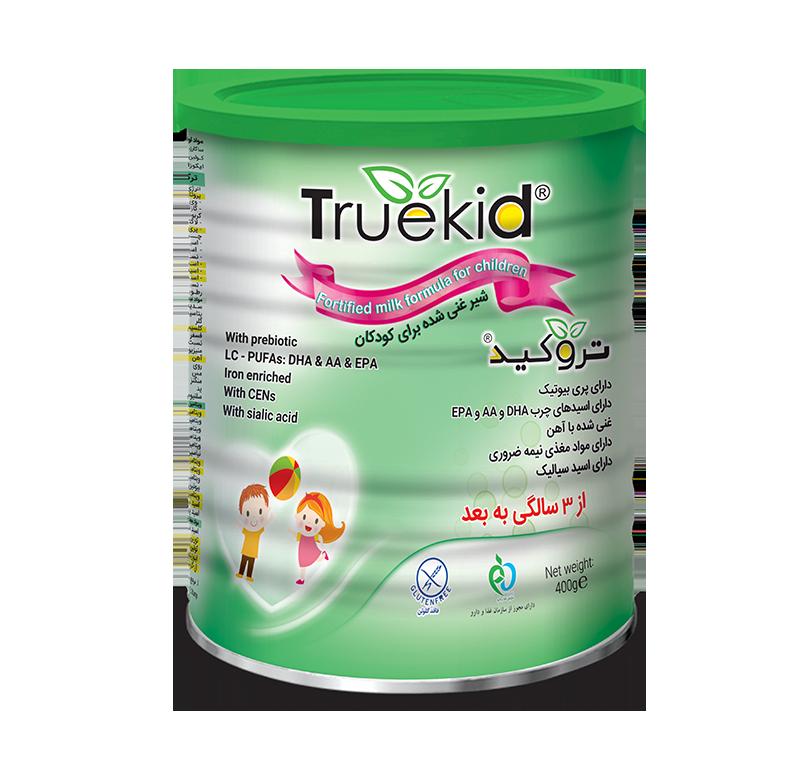 مکمل تروکید محصولی مناسب برای رفع نیاز های تغذیه ای کودک